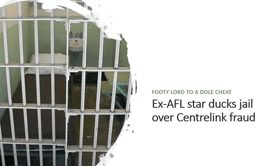 Image for Article - Ex-AFL star ducks jail over Centrelink fraud